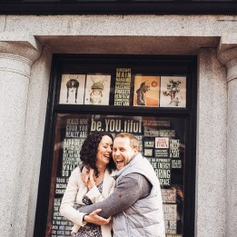 urban gastown engagement session