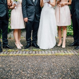 wedding party at ubc by shoebox photography
