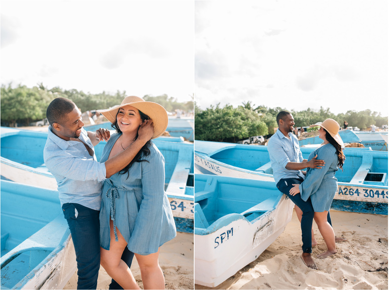 C+T engagement session macao beach dominican republic by ShoeBox Photography